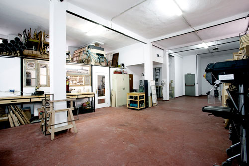 zonas del taller